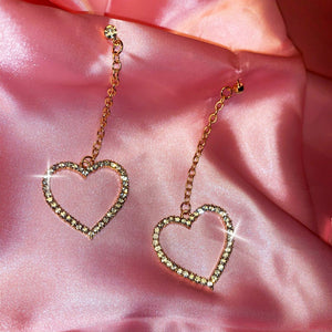 """My Heart Dropped"" Earrings"