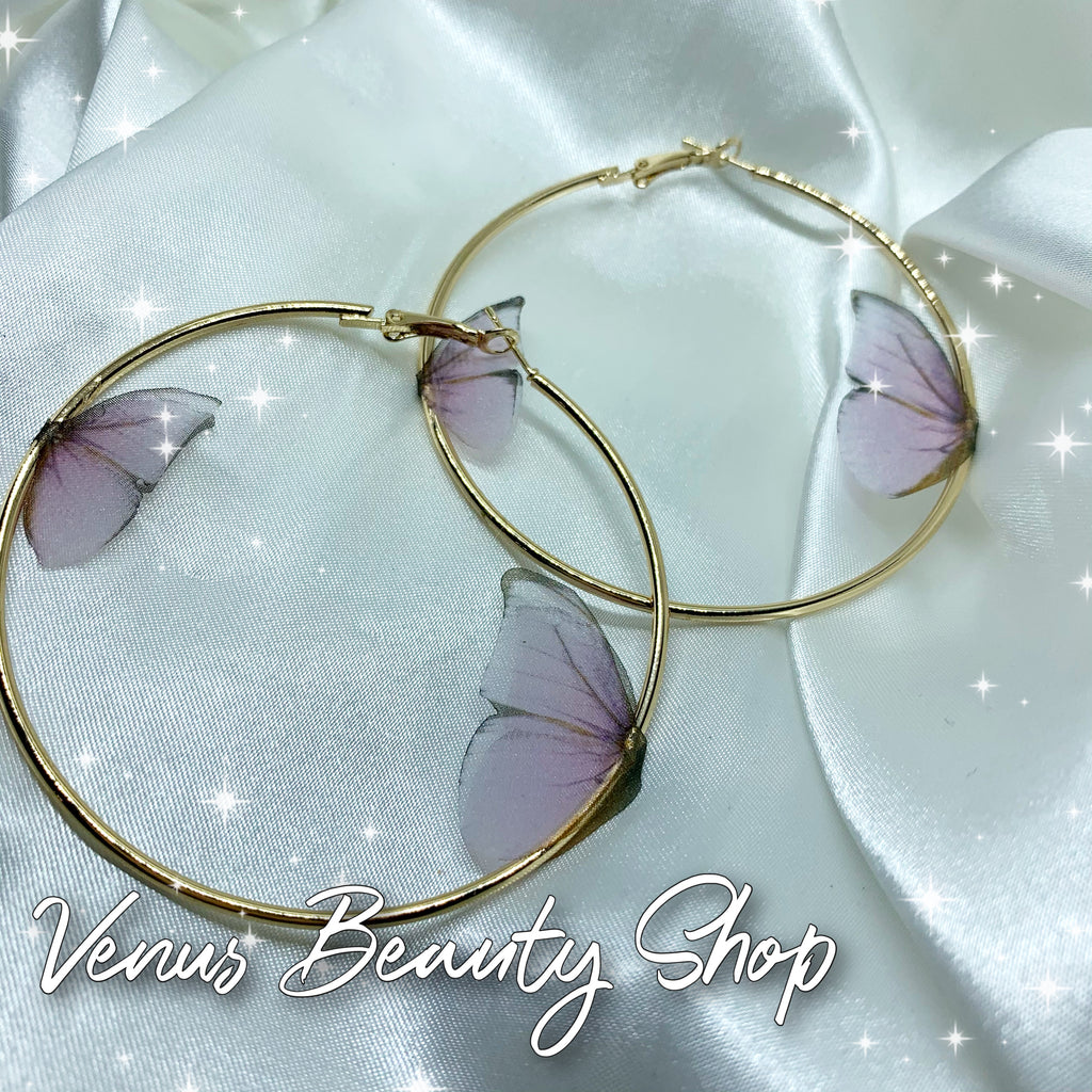 Butterfly Sphere hoops