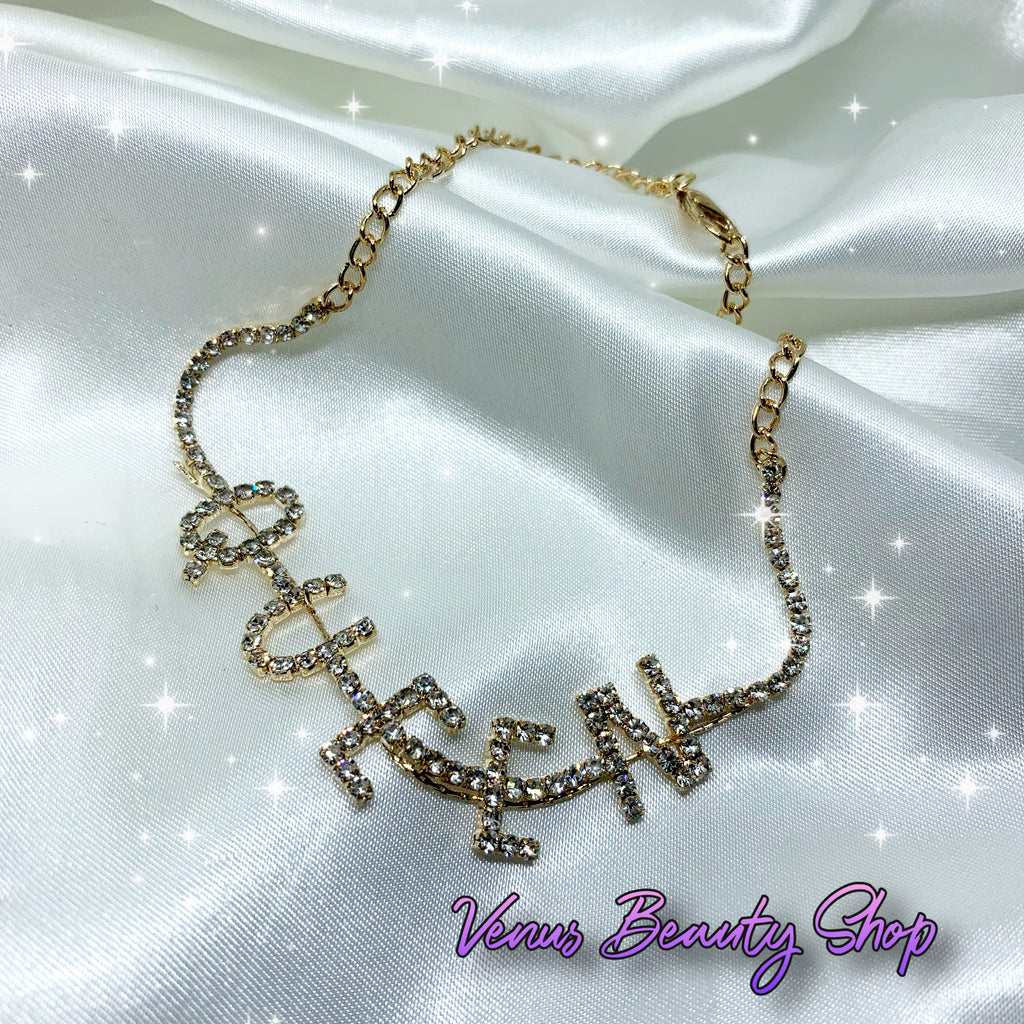 Queen Crystal Anklet