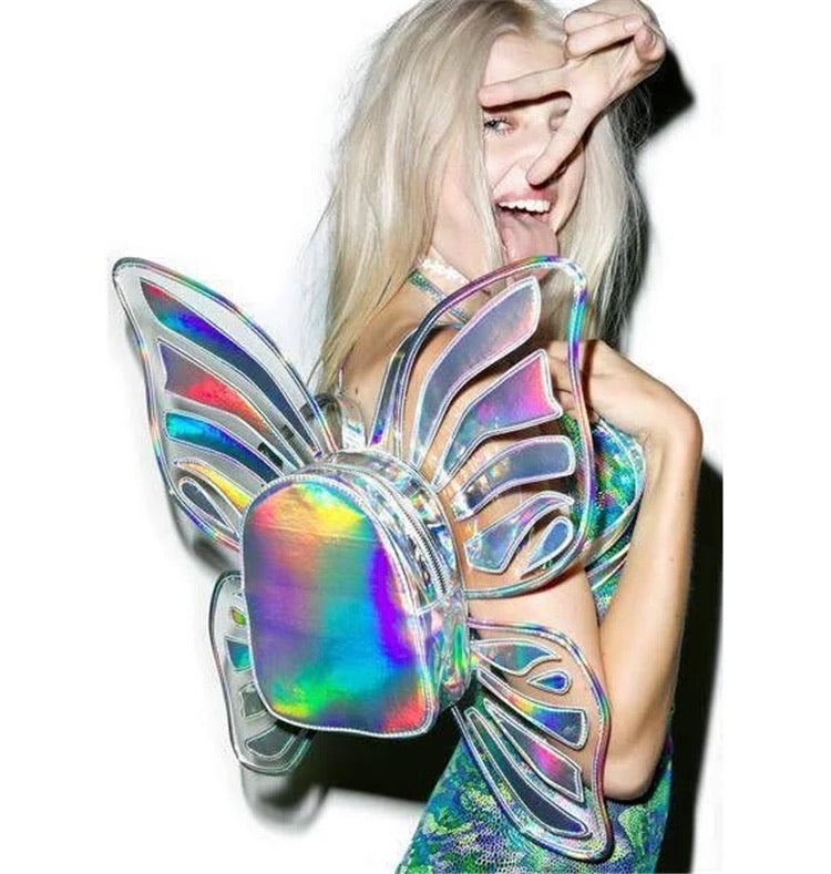 Rave Babe Butterfly Backpack