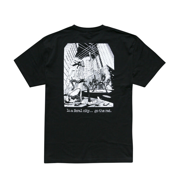 RATSHIRTS - FERAL CITY TEE
