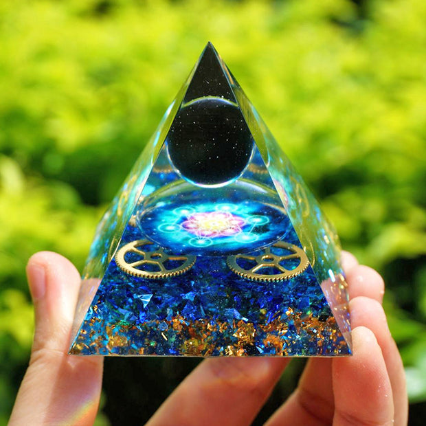 Blue Quartz 3 Pyramid Bundle