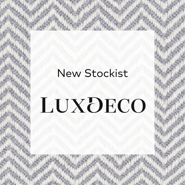 New stockist: Adriana Homewares now available on Lux Deco