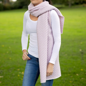 Bluefaced Leicester Wool Hovingham Rose Wrap