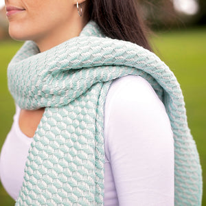 Bluefaced Leicester Wool Hovingham Mint Wrap