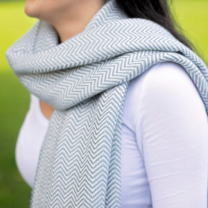 Bluefaced Leicester Wool Kirkham Limestone Wrap