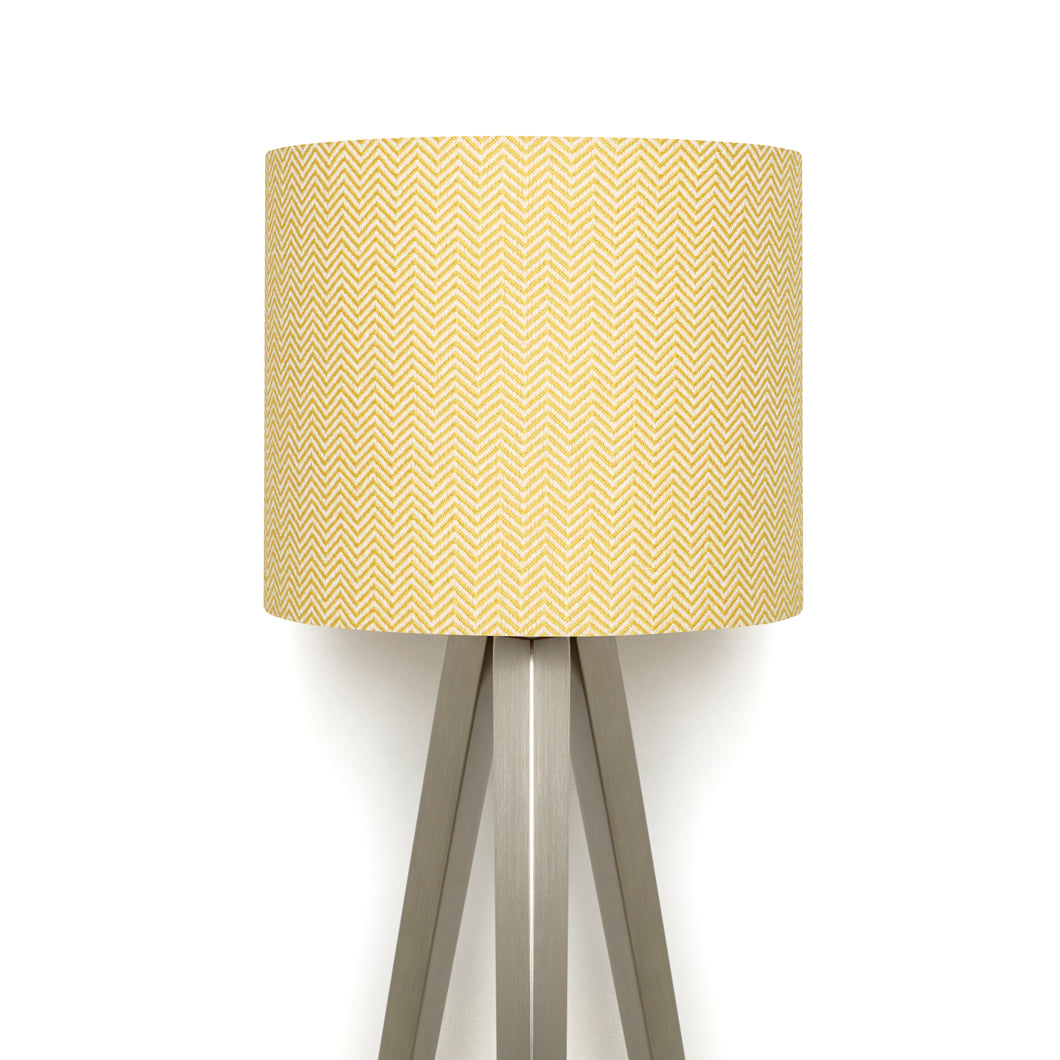 Bluefaced Leicester Wool Kirkham Mustard Lampshade