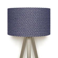 Load image into Gallery viewer, Bluefaced Leicester Wool Hovingham Midnight Lampshade