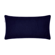Load image into Gallery viewer, Bluefaced Leicester Wool Hovingham Midnight Lumbar Cushion