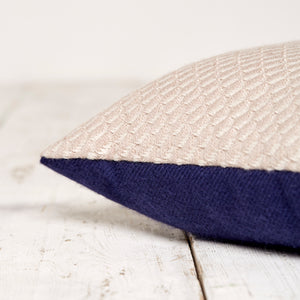 Bluefaced Leicester Wool Hovingham Mushroom Scatter Cushion
