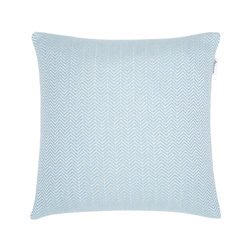 Bluefaced Leicester Wool Kirkham Hydrangea Scatter Cushion