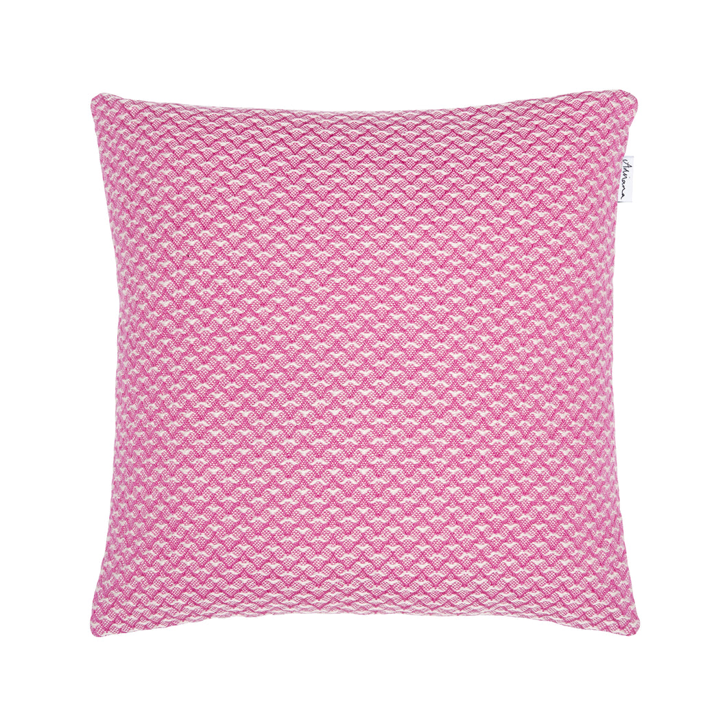 Bluefaced Leicester Wool Ryedale Raspberry Scatter Cushion