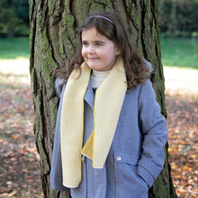 Load image into Gallery viewer, 'Mummy and Me' Kirkham Mustard Child's Wool Scarf