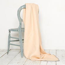 Load image into Gallery viewer, Bluefaced Leicester Wool Kirkham Peach Throw