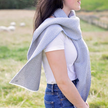 Load image into Gallery viewer, Bluefaced Leicester Wool Kirkham Limestone Scarf