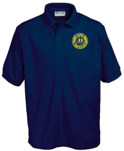 Navy Abergwili Polo
