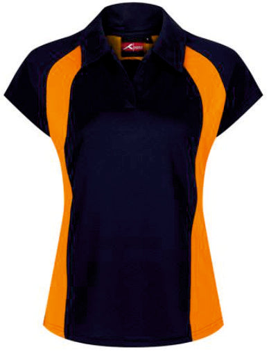 Brecon High Fitted Girls PE  Polo Shirt