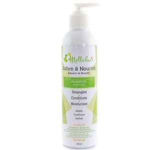 MelloHair Soften and Nourish: Moisturizing & De-tangling Shampoo