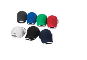 NIKE Dri-FIT Swoosh Perforated Cap - embroidered logo
