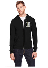 Load image into Gallery viewer, Adult Full Zip Hooded Sweatshirt - Threadfast Apparel Brand - LIGHTWEIGHT