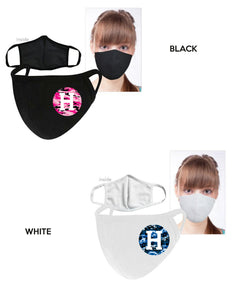 ADULT FACE MASK - ASSORTED COLORS & DESIGNS