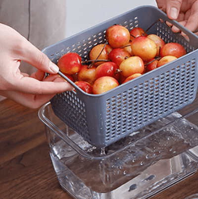 Multifunctional Fresh-Keeping Fruit & Veggies Storage Container - MyKiddee