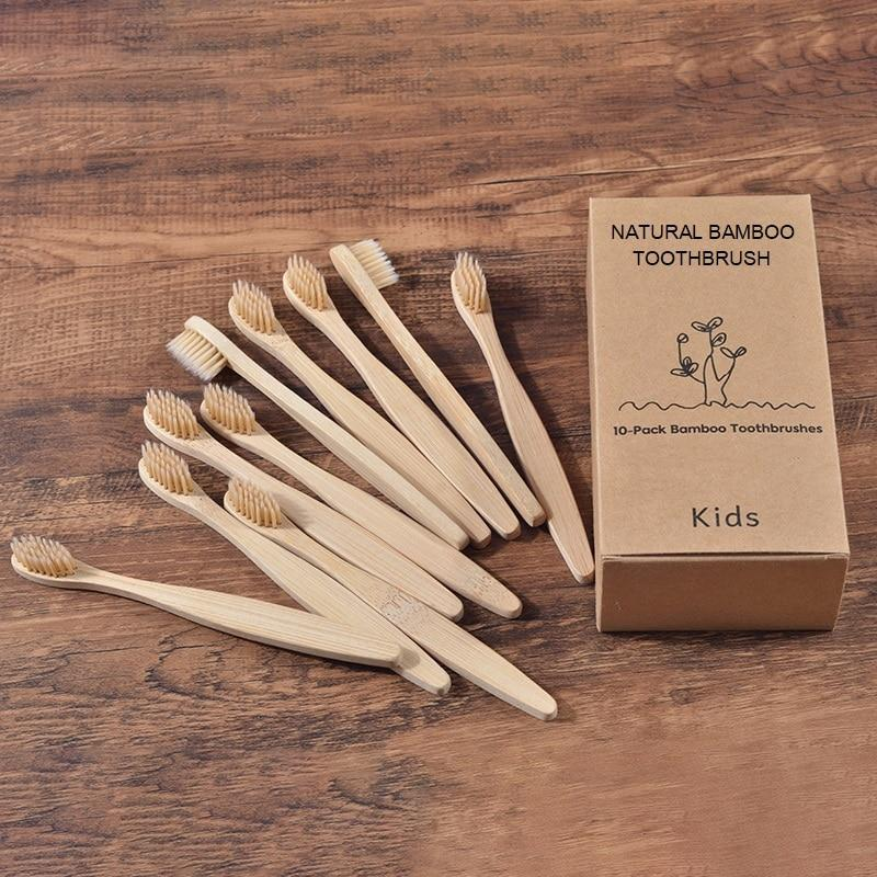 Eco Friendly Bamboo Toothbrush for Kids - MyKiddee
