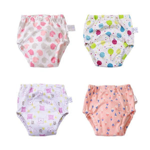 100% Cotton Potty Training Pants - 4 pack - MyKiddee