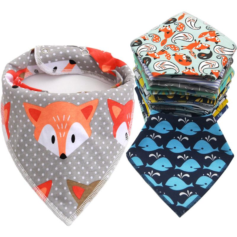 Cotton Baby Bibs with Cute Designs - MyKiddee