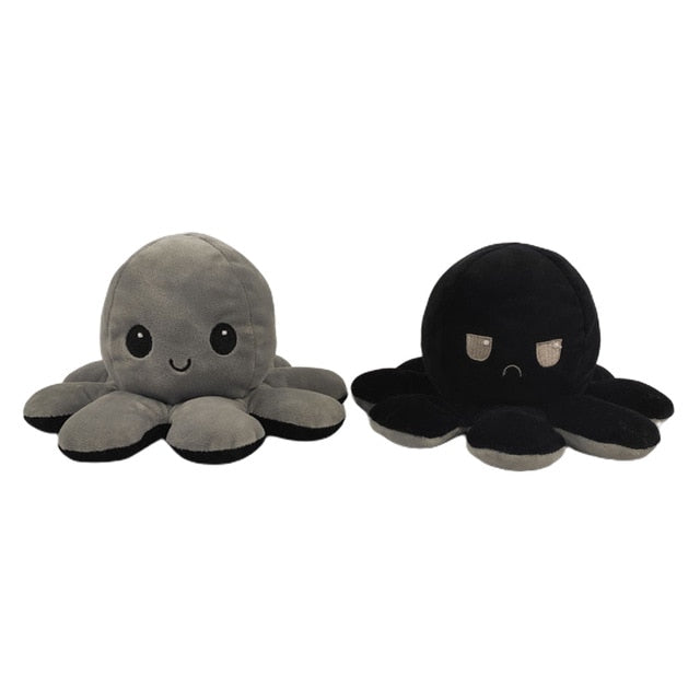 Super Cute Reversible Octopus Plush