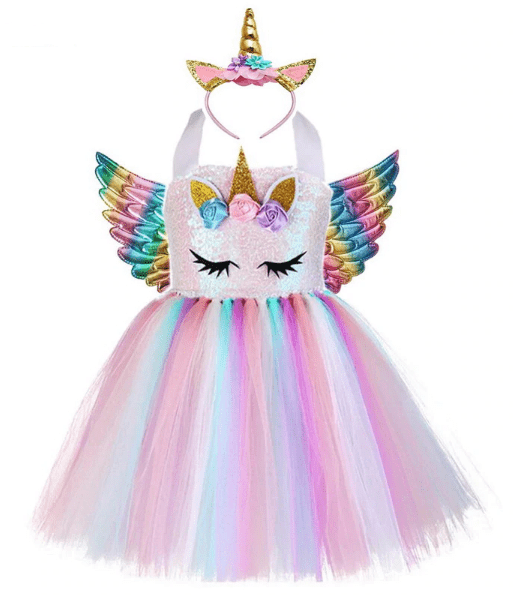 Handmade Unicorn Costume Dress - MyKiddee