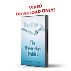 Baptism: The Water That Divides - Disciple Today Media Store