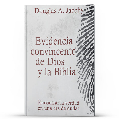 Evidencia convincente de Dios y la Biblia - Disciple Today Media Store