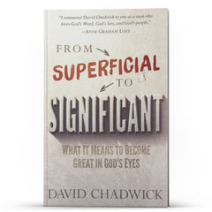 From Superficial to Significant - Disciple Today Media Store