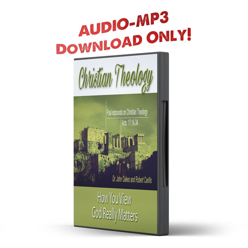 Christian Theology: How You View God Really Matters - Disciple Today Media Store