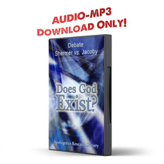 Debate 1 Does God Exist? Jacoby vs. Shermer - Disciple Today Media Store