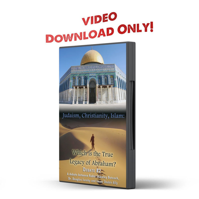 Debate 2 Judaism, Christianity, Islam: Which is True Legacy of Abraham? - Disciple Today Media Store