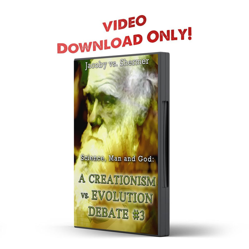 Debate 3 Science, Man and God: Creationism vs Evolution - Disciple Today Media Store