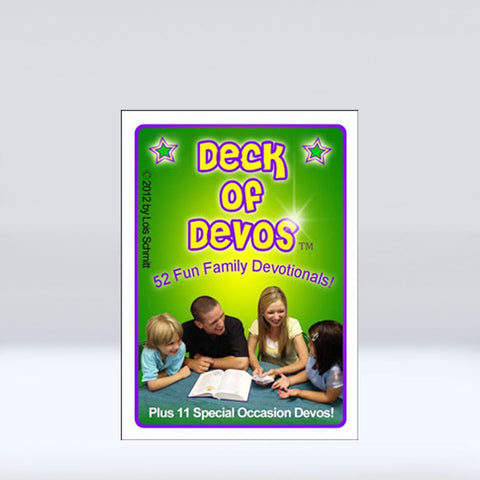 Deck of Devos: There are 52 Devotionals + 11 Holiday Centered - Disciple Today Media Store