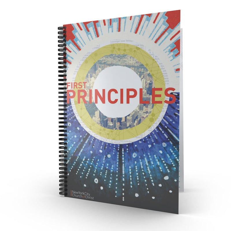 First Principles - Disciple Today Media Store