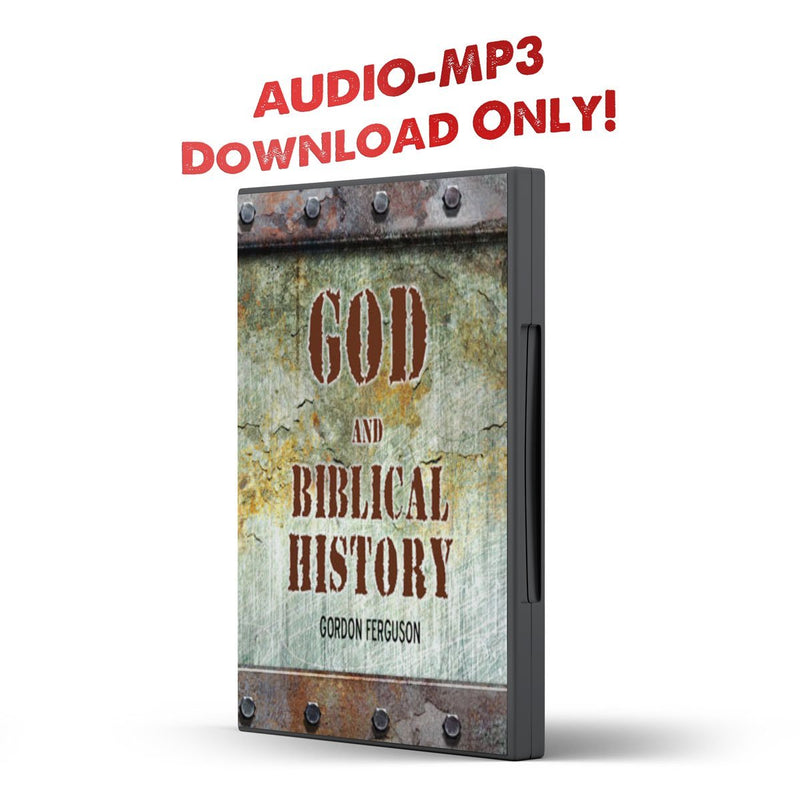 God and Biblical History - Disciple Today Media Store