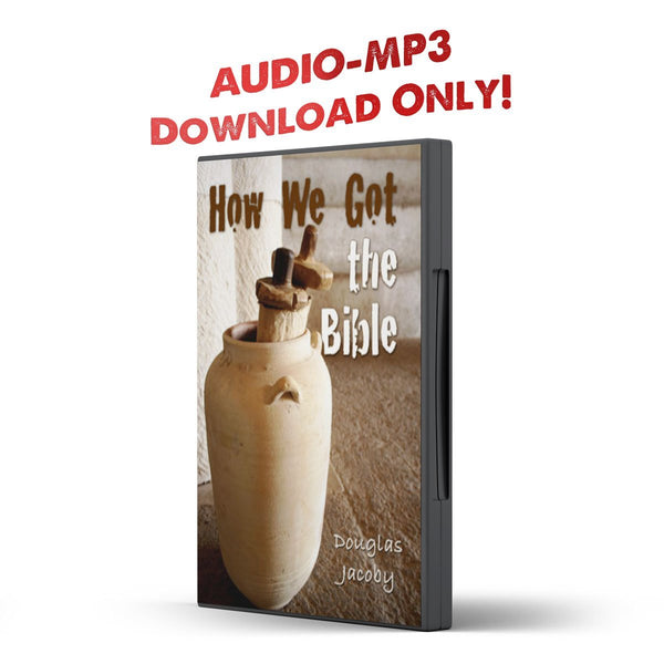 How We Got the Bible DJ - Disciple Today Media Store