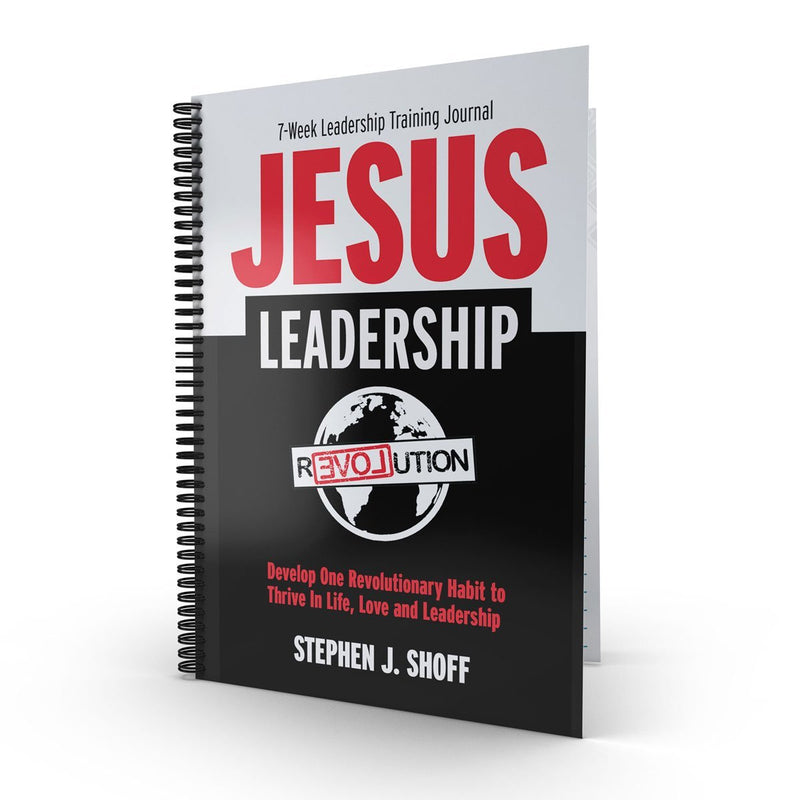 JESUS LEADERSHIP—7 Week Leadership Training Journal - Disciple Today Media Store