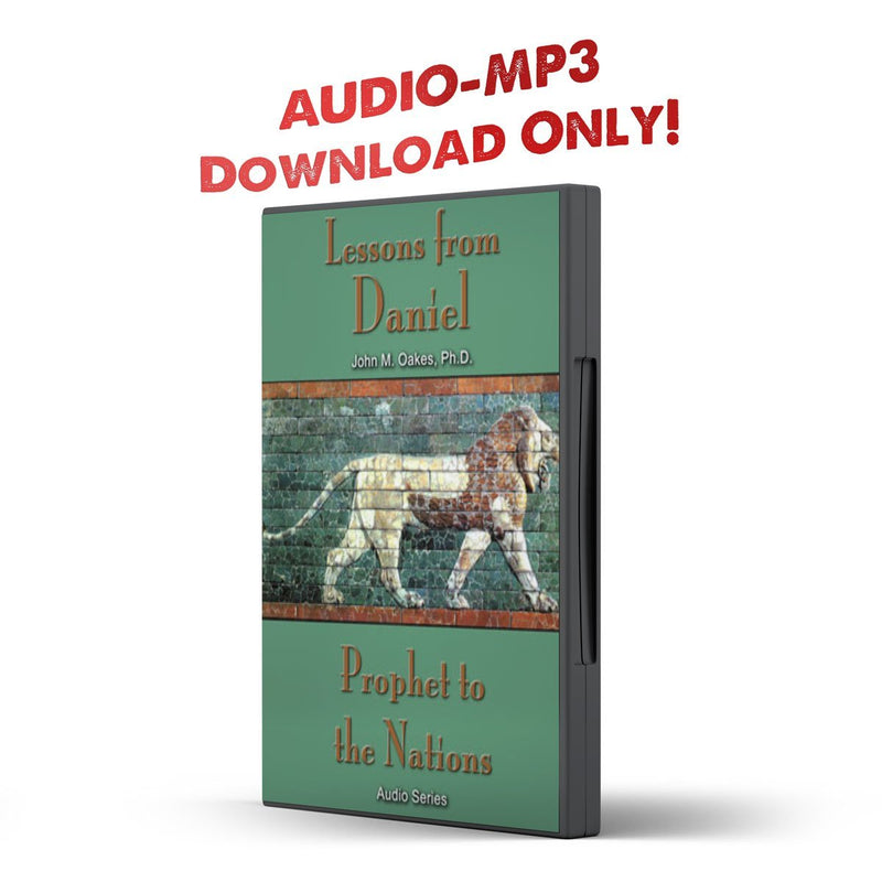 Lessons From Daniel: Propet to the Nations - Disciple Today Media Store