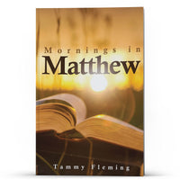 Mornings in Matthew Kindle - Disciple Today Media Store