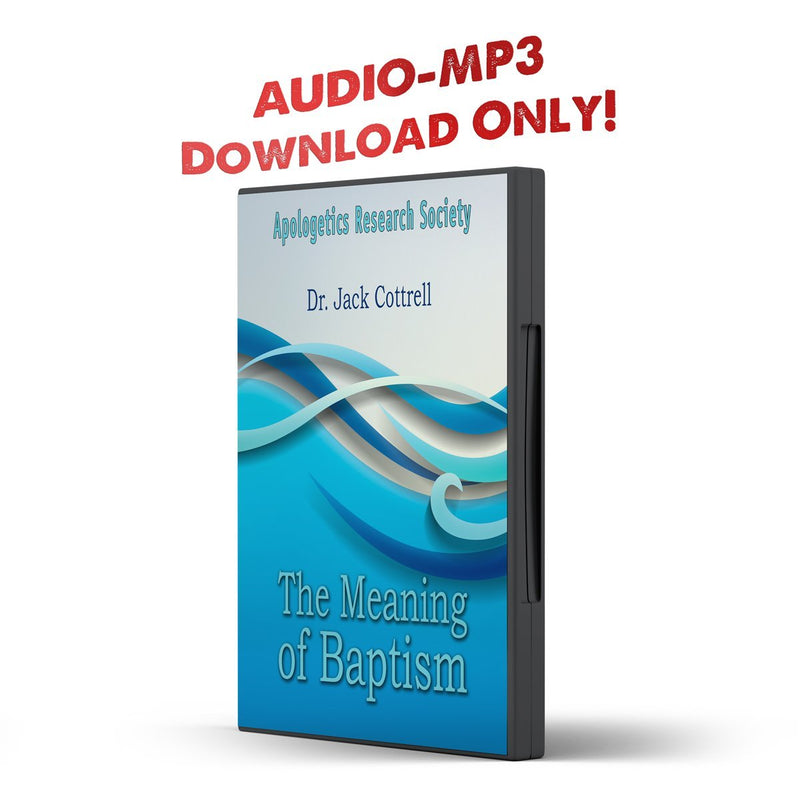 The Meaning of Baptism - Disciple Today Media Store
