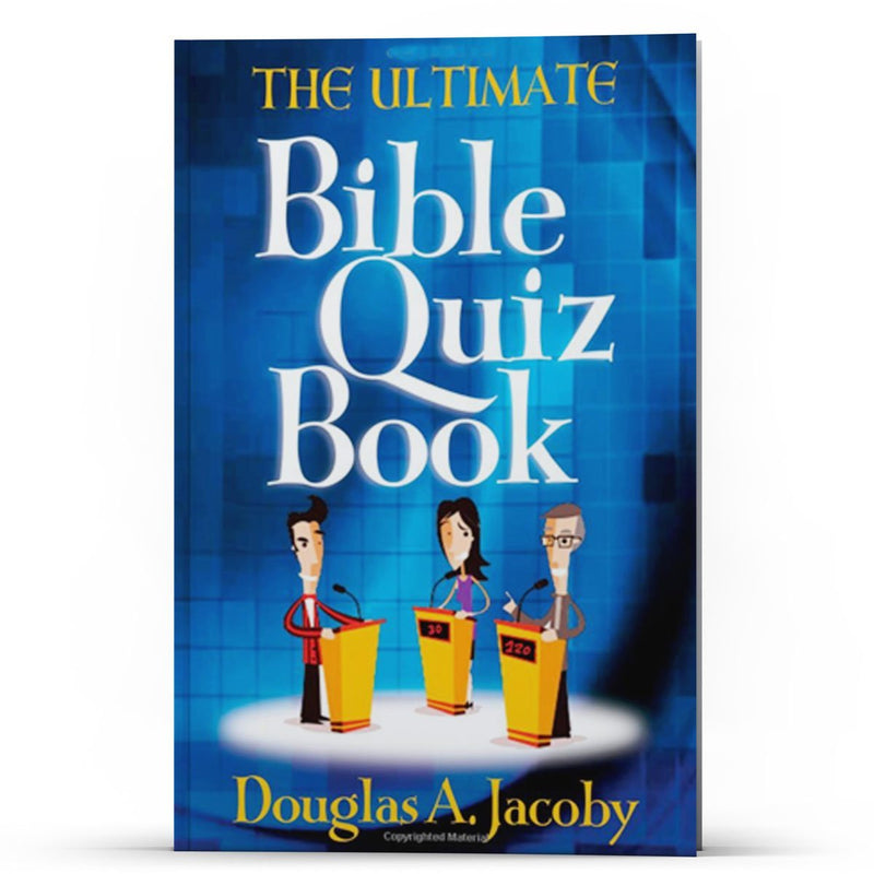 The Ultimate Bible Quiz Book - Disciple Today Media Store