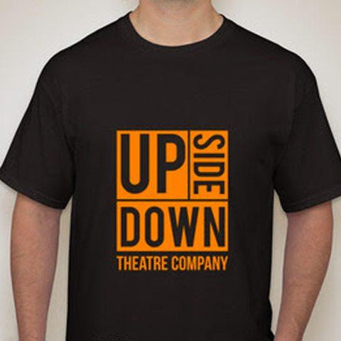UPSIDEDOWN T-Shirt Black/Yellow - Disciple Today Media Store