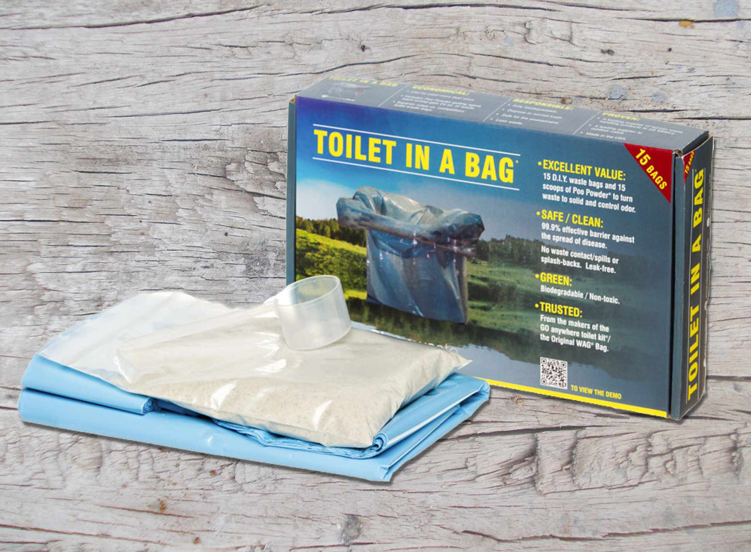 Cleanwaste - Toilet in a Bag