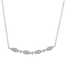 .16 CARAT DIAMOND NECKLACE, 10kt WHITE GOLD….....................NOW